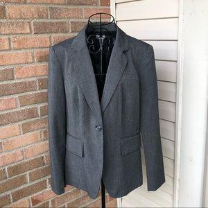 Worthington- charcoal grey blazer